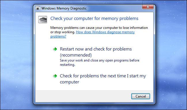 diagnostic-memorie-windows