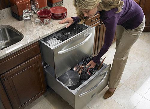 Dishwasher drawers