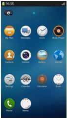 Tizen desktop