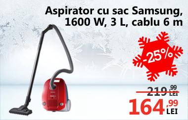 Aspirator cu sac Samsung VCC4135S37