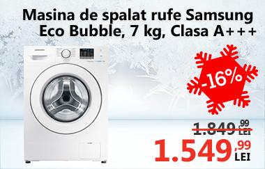 Mașină de spălat rufe Samsung Eco Bubble WF70F5E0W2W