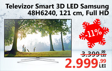 Televizor Smart 3D LED Samsung 48H6240