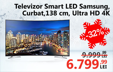 Televizor Smart LED Samsung Curbat