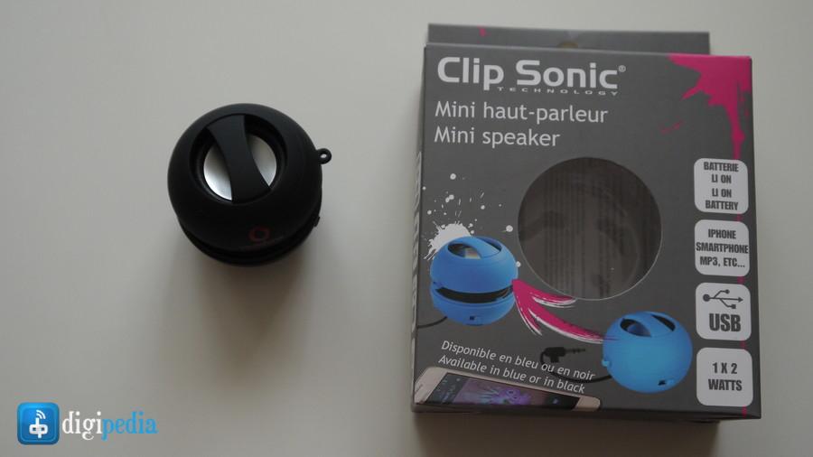 Mini boxa Clip Sonic