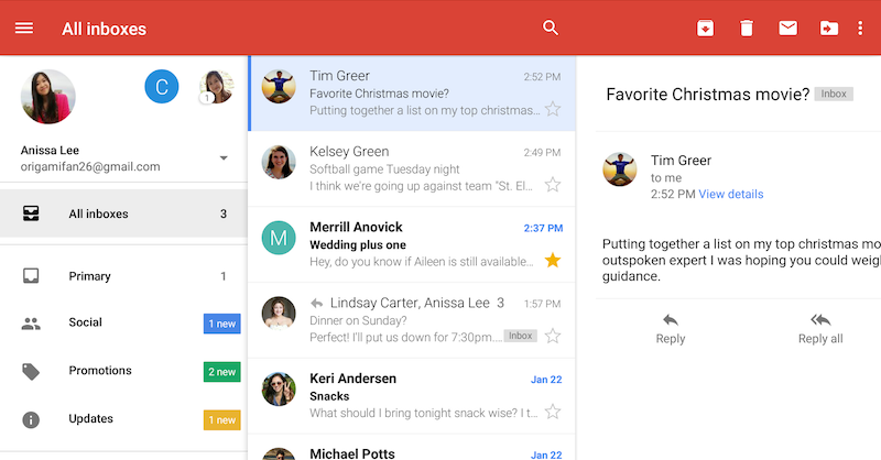 Gmail-in-one-place
