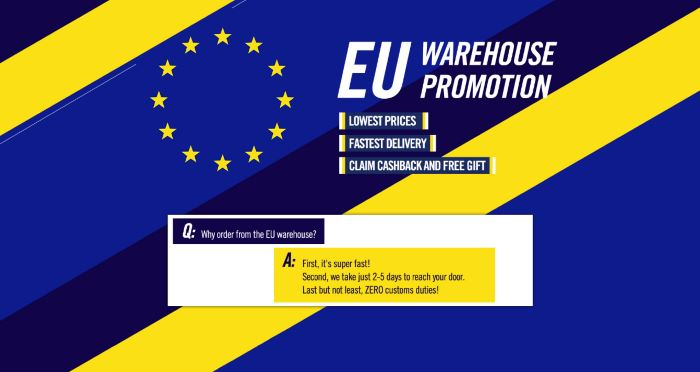 Gearbest EU Warehouse