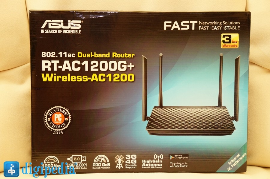 Asus RT-AC1200G Plus 1