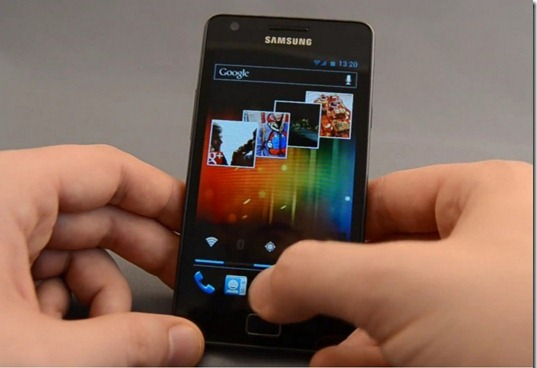 SGS2 Android ICS 4.0