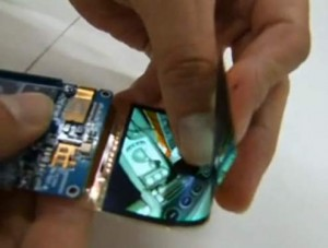 samsung oled foldable display