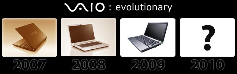 sony vaio evolutionary
