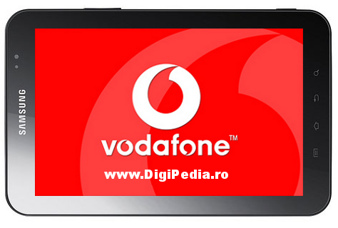 vodafone internet galaxy tab